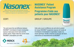 comment appliquer nasonex