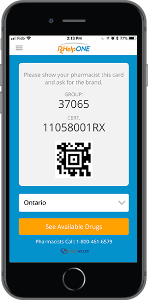 RxHelp card programs allow patients to benefit from payment